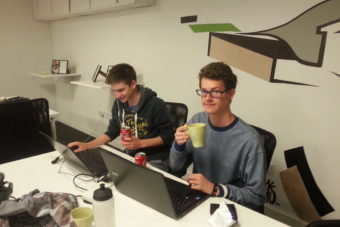Made with Joy work experience youth Zach Austin featured on Think Fresh blog