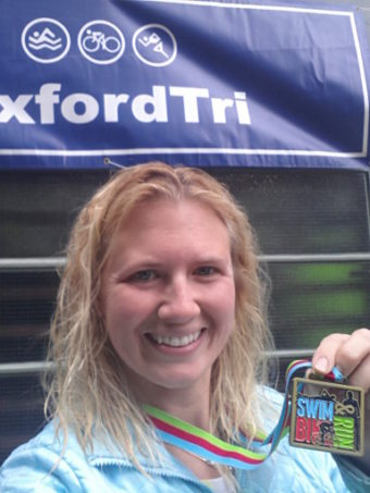 My second triathlon – OxfordTri 2015 Sprint Triathlon