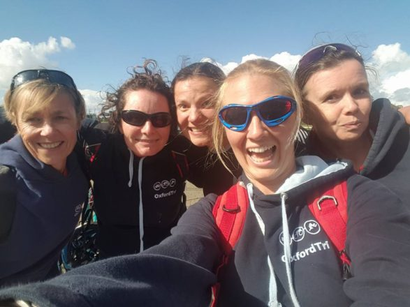 The lovely ladies of OxfordTri at my first Olympic Triathlon